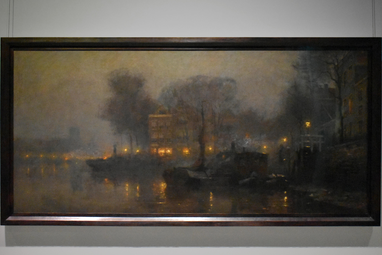 Обои картина, Ян Брейгель младший, Пейзаж, Вид на Шельду близ Антверпена, лодка. Разное foto 7