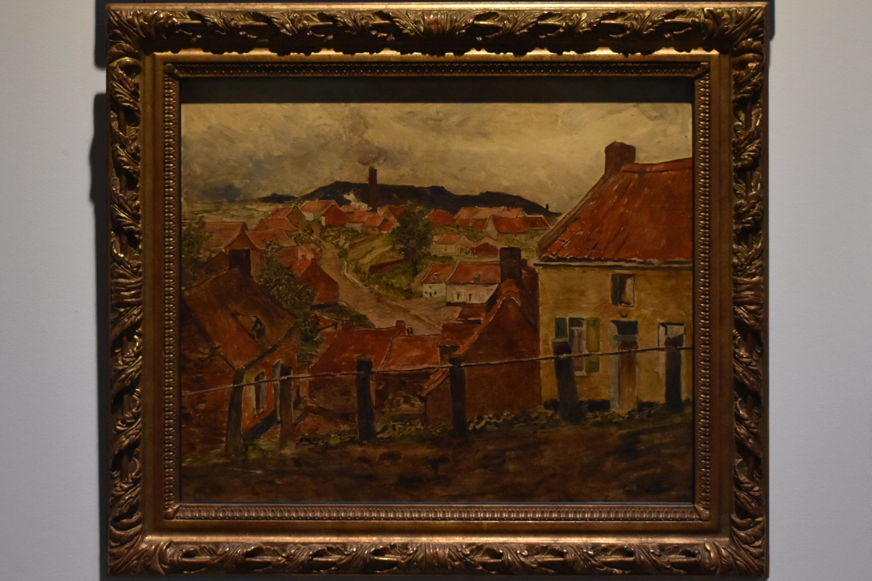 Обои картина, Ян Брейгель младший, Пейзаж, Вид на Шельду близ Антверпена, лодка. Разное foto 8