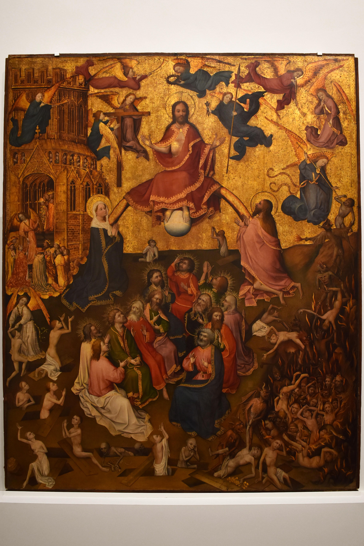 Обои мифология, картина, Горный Пейзаж с Искушением Христа, Ян Брейгель старший, религия. Разное foto 11