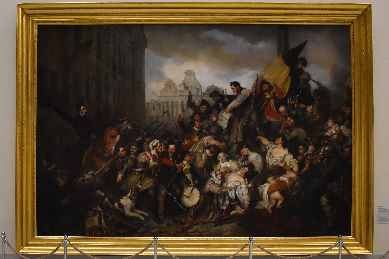 Обои парус, картина, Конинк Филипс, Пейзаж Широкой Реки, лодка. Разное foto 10