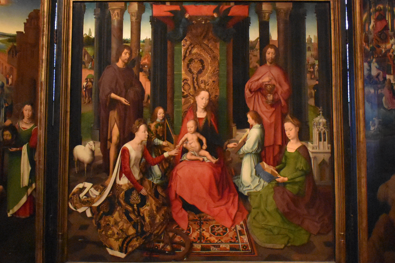 Обои мифология, картина, Горный Пейзаж с Искушением Христа, Ян Брейгель старший, религия. Разное foto 8